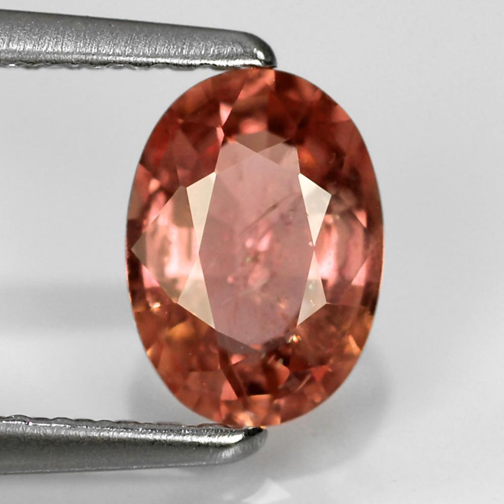 Genuine Padparadsha Sapphire 1.01ct 7.0x5.0x3.1mm SI1 Mozambique