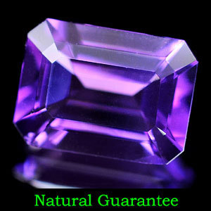 Genuine 100% Natural Amethyst 1.18ct 8.1 x 6.0mm Brazil VVS