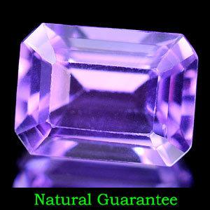 Genuine 100% Natural Amethyst 1.47ct 8.1 x 6.1mm Brazil VVS