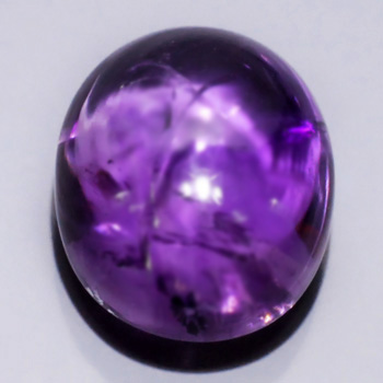 Genuine 100% Natural Amethyst 19.23ct Uruguay Cabochon 18.1 x 14.7mm