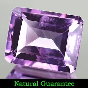 Genuine 100% Natural Amethyst 2.52ct 9.1 x 7.1mm SI