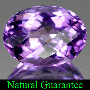 Genuine 100% Natural AMETHYST 3.80ct 11.4 x 8.3mm Oval