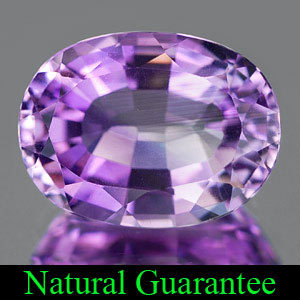 Genuine 100% Natural Amethyst 5.08ct 12.9 x 9.6mm Brazil VVS