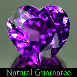 Genuine 100% Natural Amethyst 5.83ct 12.3 x 11.6mm Brazil VVS