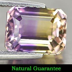 Genuine 100% Natural Ametrine 2.26ct 8.2 x 6.2mm Octagon VS1 Clarity
