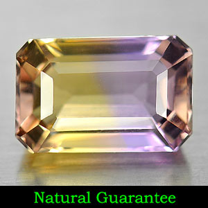 Genuine 100% Natural Ametrine 2.80ct 10.3 x 6.8mm Octagon VVS Clarity