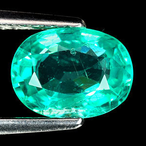 Genuine 100% Natural APATITE 1.42ct 8.0 x 6.0mm Oval