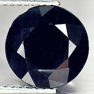 Genuine Black Sapphire 5.28ct 10.0x10.0x6.0 VS1 Austrailia