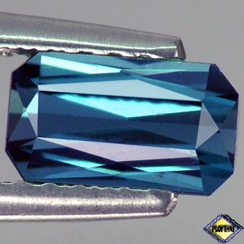 Genuine 100% Natural Blue Indicolite Tourmaline .70ct 6.9 x 3.9mm Octagon VVS1 Clarity RARE