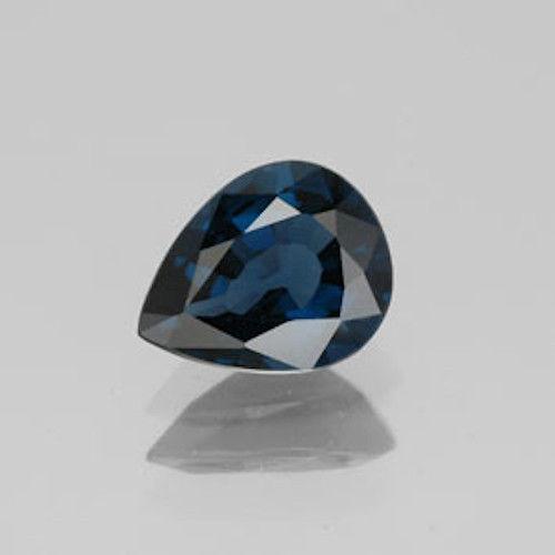 Genuine Blue Sapphire .41ct 5.0 x 3.0mm Pear SI1 Clarity