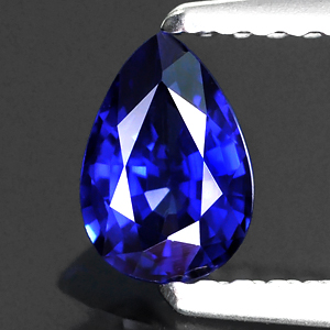 Genuine Blue Sapphire .48ct 6.0 x 4.0mm Pear VS Clarity