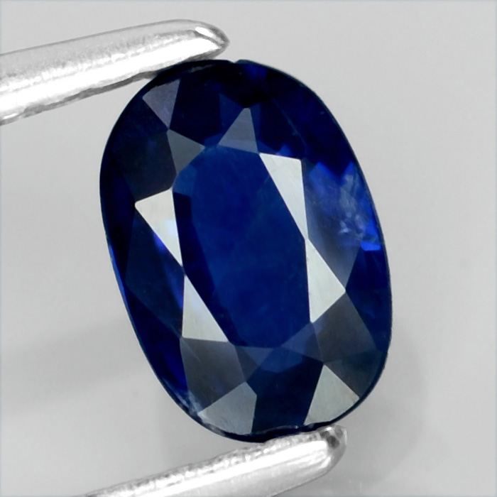 Genuine 100% Natural Blue Sapphire .52ct 6.0 x 4.0mm Oval SI1 Clarity