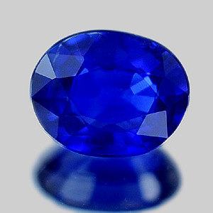 Genuine 100% Natural Blue Sapphire .61ct 5.8x4.7 VS1 Madagascar