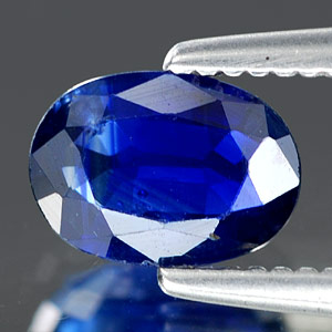 Genuine BLUE SAPPHIRE .69ct 6.5 x 4.5 x 2.5mm Oval