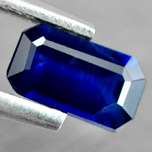Genuine Blue Sapphire .86ct 7.4 x 4.2mm Octagon SI Clarity