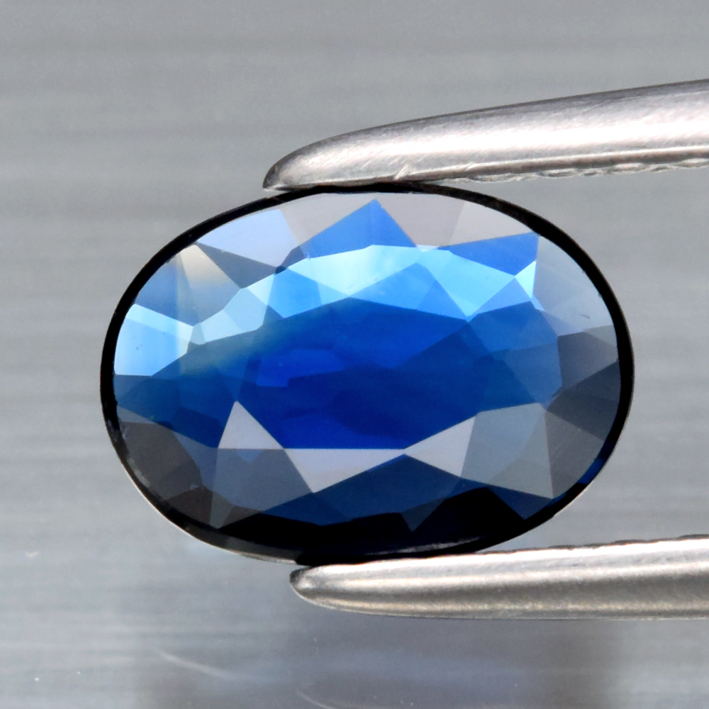 Genuine Blue Sapphire .50ct 6.8 x 5.0mm Oval VVS Clarity