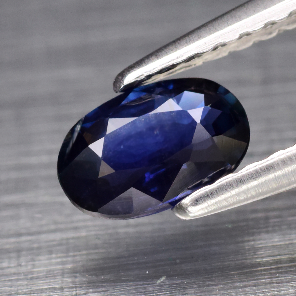 Genuine 100% Natural Blue Sapphire 0.56ct 6.0 x 4.0mm Oval SI1 Clarity