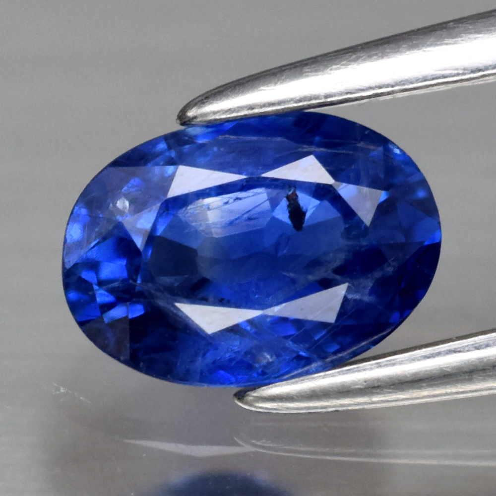 Genuine Blue Sapphire .64ct 6.0 x 4.4mm Oval SI1 Clarity