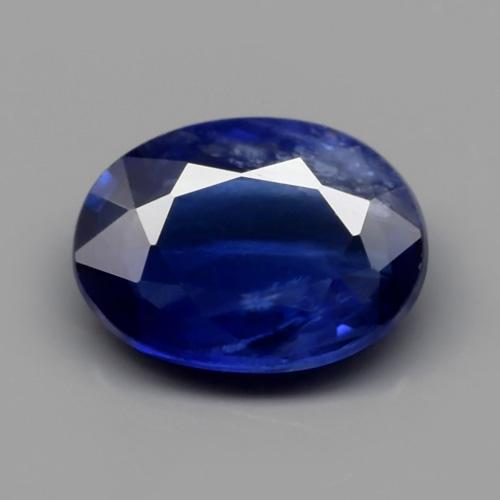 Genuine Blue Sapphire 0.72ct 6.5x4.8x2.2mm Oval SI1 Madagascar