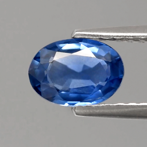 Genuine Blue Sapphire 0.76ct 6.8x4.8x2.4mm Oval SI1 Madagascar