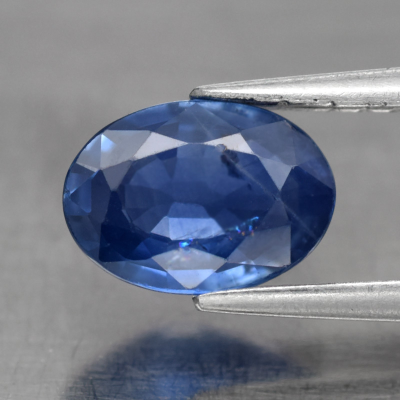 Genuine Blue Sapphire 0.76ct 7.0x5.0x2.4mm Oval SI1 Madagascar