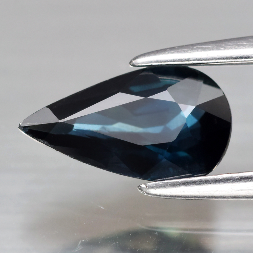 Genuine 100% Natural Blue Sapphire .86ct 8.2 x 4.6mm Pear VS Clarity