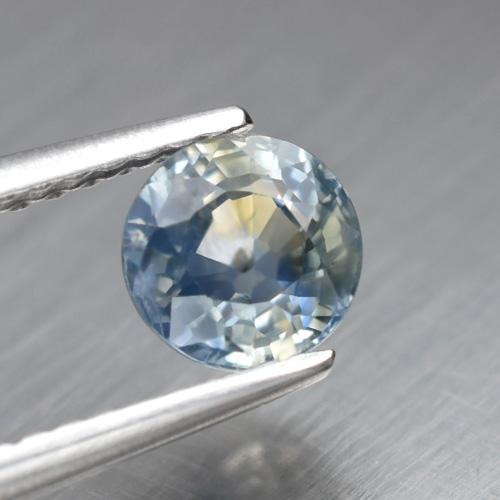 Genuine Blue Sapphire .88ct 5.5 x 5.5mm Round SI1 Clarity Madagascar