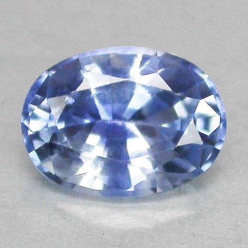 Genuine Blue Sapphire .96ct 7.0x5.0x3.3mm VVS Ceylon