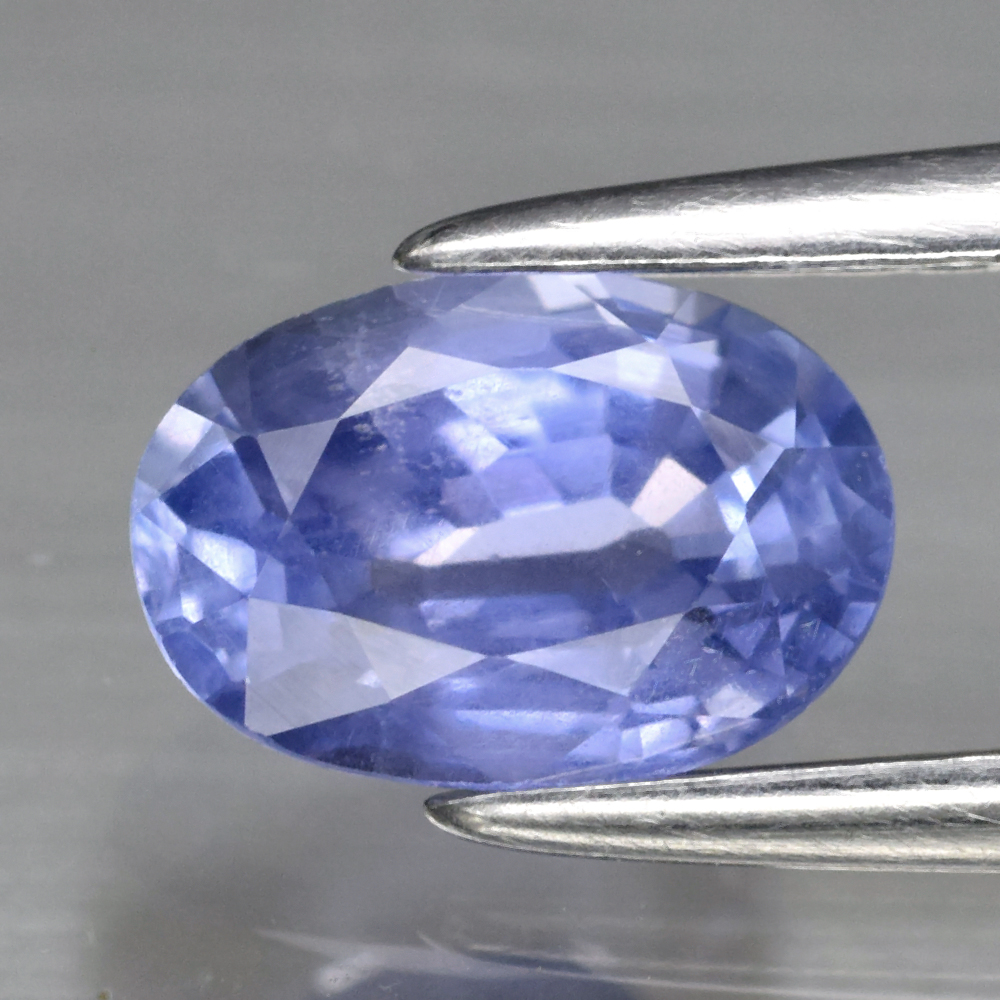Genuine 100% Natural Blue Sapphire 0.97ct 6.8 x 4.8mm Oval SI1 Clarity (Certified)