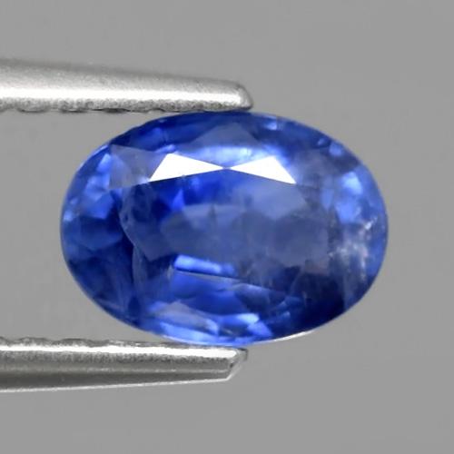 Genuine Blue Sapphire 1.00ct 6.8x5.0x3.3mm Oval SI1 Madagascar