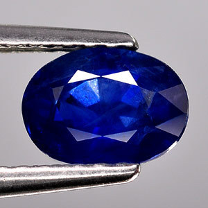 Genuine Blue Sapphire 1.01ct 7.3 x 5.3mm Oval SI