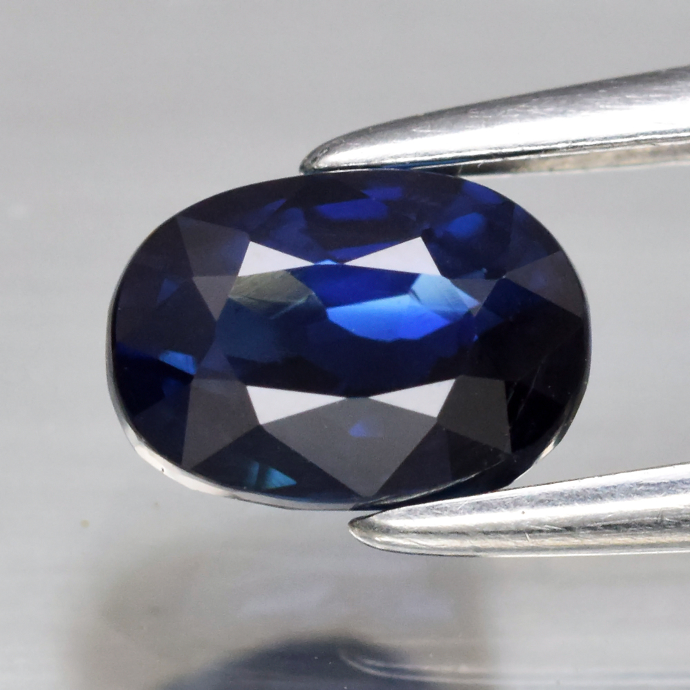 Genuine 100% Natural Blue Sapphire 1.02ct 5.97 x 4.24mm Oval VVS Clarity (Certified)