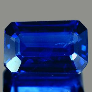 Genuine BLUE SAPPHIRE 1.05ct 7.2 x 4.7 x 2.5mm Octagon