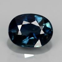 Genuine Blue Sapphire 1.07ct 6.5x5x3.6mm Oval SI1 Thailand