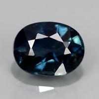 Genuine Blue Sapphire 1.07ct 6.5x5x3.6mm Oval SI1 Thailand