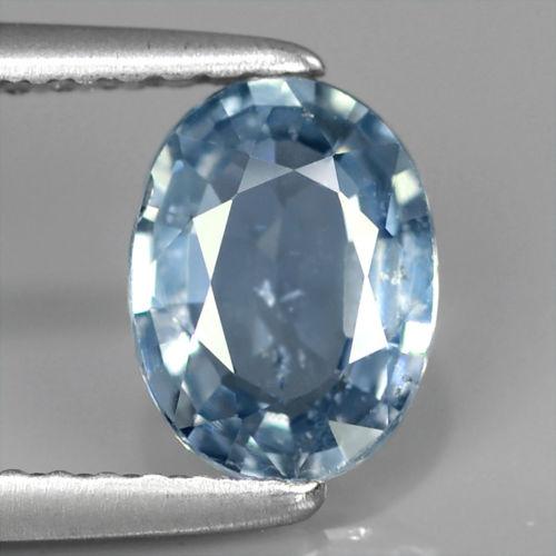 Genuine Blue Sapphire 1.11ct 7.5x5.5x2.7mm Oval SI1 Madagascar