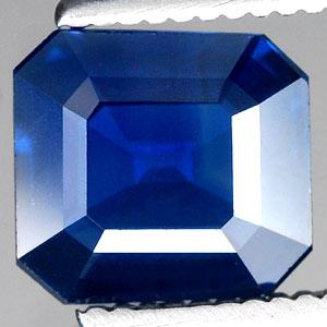Genuine Blue Sapphire 1.21ct 6.8 x 6.3 x 2.7mm Octagon