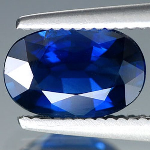 Genuine BLUE SAPPHIRE 1.22ct 8.0 x 5.4 x 3.2mm Oval VS1 Clarity