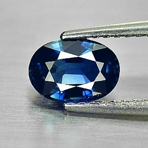 Genuine Blue Sapphire 1.22ct 7.3x5.2x3.5mm Oval VS1 Thailand