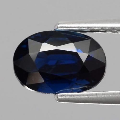 Genuine 100% Natural BLUE SAPPHIRE 1.71ct 7.5 x 5.0mm Oval SI1 Clarity