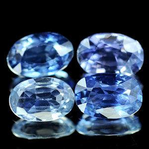 Genuine Blue Sapphire .47ct 5.9 x 4.0 x 2.6mm Sri-Lanka VS1