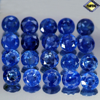 Genuine Blue Sapphire .66ct 5.0 x 5.0mm Round VS Clarity