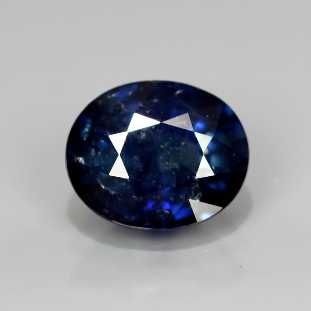 Genuine Blue Sapphire 2.03ct 8.5x7x4.1mm SI2 Thailand