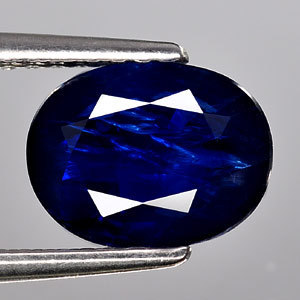 Genuine 100% Natural Blue Sapphire 2.18ct 8.7 x 6.6mm Oval SI1 Clarity