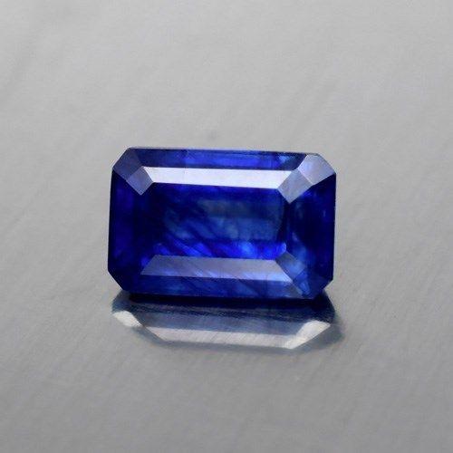Genuine BLUE SAPPHIRE 2.32ct 8.5 x 5.5mm Octagon SI2 Clarity