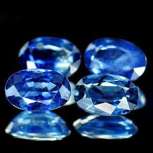 Genuine Blue Sapphire 0.60ct 6.0 x 4.0 x 2.4mm Thailand VS1