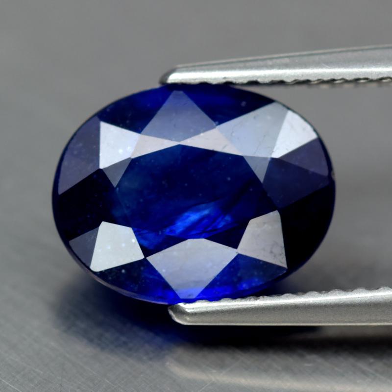 Genuine Blue Sapphire 2.93ct 10.0x7.7x3.9mm SI2 Madagascar