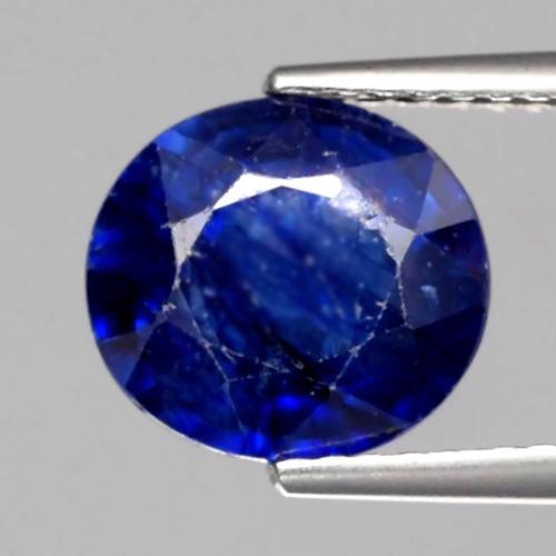 Genuine Blue Sapphire 3.44ct 9.3x8.5x4.9mm SI2 Madagascar