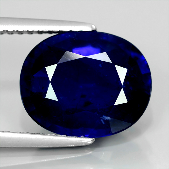 Genuine Royal Blue Sapphire 5.16ct 10.3x9.2x5mm SI1 Africa