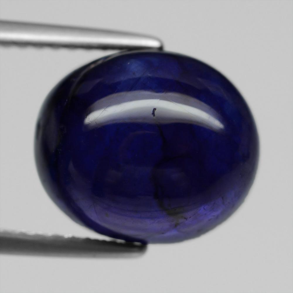 Genuine Blue Sapphire 9.47ct 11.7x10x7.1mm Semi-transparent Madagascar